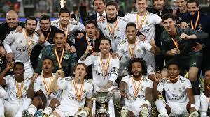 تتويج ريال مدريد بالكأس السوبر الإسبانية بعد تغلبه على أتلتيكو بركلات  الترجيح