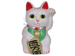 Asian good luck cat