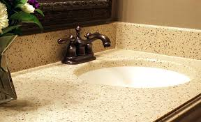 get the thickness of granite and quartz vanity tops with the corian vanity tops image c seamless undermount sink combined