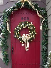 front door hangingsChristmas Door Decorations  Decoist