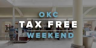 tax free weekend in okc