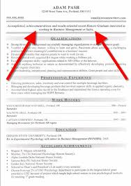 Good Resume Objective Examples Of Resume Objectives On Great Resume