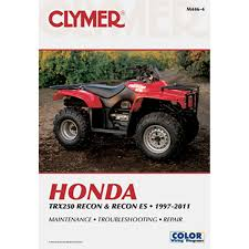 clymer atv manual honda trx250 recon & recon es chaparral 1987 honda fourtrax 250 wiring diagram at Honda Trx 250 Wiring Diagram
