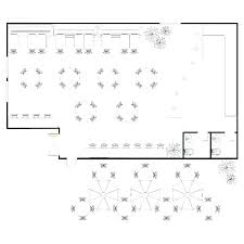 Restaurant Seating Chart Template Layout Dining Room Tables Table