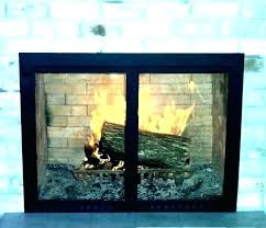 fireplace glass door replacement as well front top prime org tempered doors