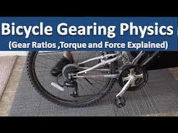 Bicycle Gear Chart Bicycle Gearing Physics Velocity Gear Ratios Torque And Force Explained