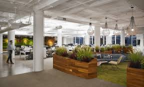 greenery office interiors. Office Interiors · Key Materials Such As A Greenery, Wood, Steel And Concrete Were Used To Form Greenery