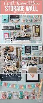 craft room office reveal bydawnnicolecom. Craft Room Office Reveal Bydawnnicolecom. A Beautiful, Colorful Wall With Pegboard Bydawnnicolecom O