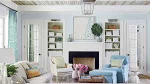 coastal living room design. Light Blue Living Room Coastal Design