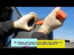 2007 chevy corvette c6 how to remove