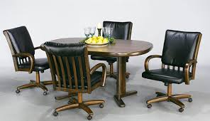 dining room set with swivel chairs interior concoubook
