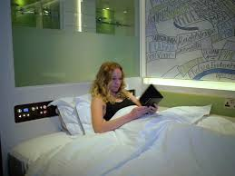 High Tech Bedroom The Most High Tech Hotels Business Insider