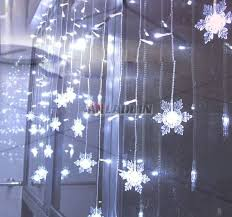 lighting curtains. Lighting Curtains With Snowflake 104 LED Holiday Lights Anladdin