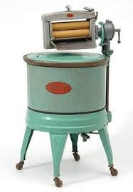 old style washing machine. Beautiful Style Electric Washing Machine By Kenmore The Consists Of A Cylindrical  Enamel Tub On Four Throughout Old Style Washing Machine Pinterest