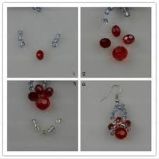 how to make crystal earrings step12