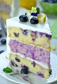 Lemon Blueberry Cheesecake Cake Recipe Omg Chocolate Desserts
