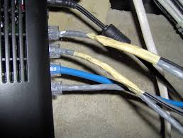 hack your house run both ethernet and phone over existing cat 5 two hacked cables now
