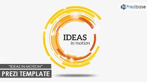 Motion Template Ideas In Motion Prezi Template Prezibase