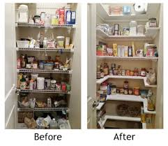 small kitchen pantry storage ideas redesign before and after shelves sliding roll out organizer closet organizers