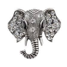 2019 <b>Vintage</b> Jewelry <b>Big</b> Elephant Gold Plated Brooch For <b>Women</b> ...