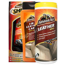 photo s of the armor all wax 3in1 leather care leather wipes pro80