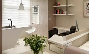 Small Picture Small Living Super Streamlined Studio Apartment