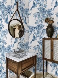 Vintage Vogels Behang Behang Bloemen Behang Koninklijke Etsy