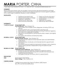 choose examples of medical resumes