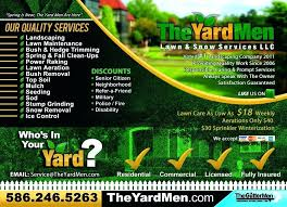 Sample Flyers For Landscaping Business Lawn Care Flyers Template Allthingsproperty Info
