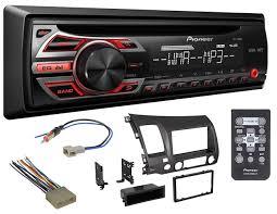 pioneer car radio. pioneer car radio stereo cd player dash install mounting kit harness antenna -46