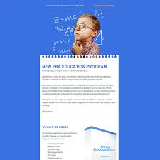 Templates For Education Education Free Responsive Email Newsletter Template