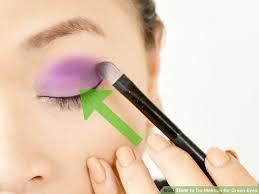 image led do makeup for green eyes step 19
