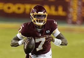 quarterback Dwayne Haskins ...