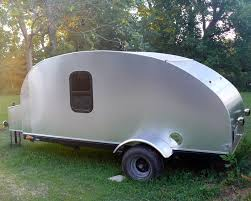 many teardrop trailers have doors on each side but ours only has one door