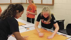 Service project wraps up summer workouts for Osseo girls basketball team |  Free | hometownsource.com