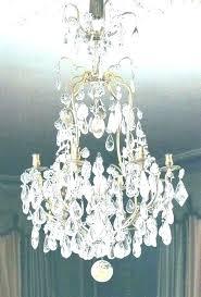 orb crystal chandelier metro small polished nickel extraordinary foucaults