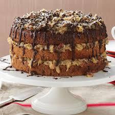 Decorated German Chocolate Cake German Chocolate Cake Recipe Taste Of Home