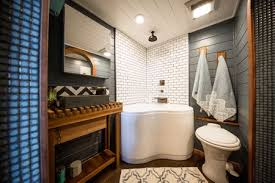corner tub with corner shower tiny heirloom