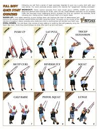 Printable Trx Exercise Chart Trx Printable Exercise List Woss Gear Trainer