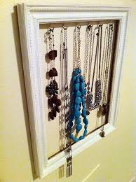 how to make a diy jewelry holder frame from an old picture