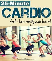 at home cardio fat burning workout tone tighten