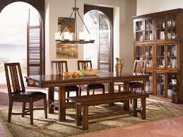 Trestle Dining Room Sets A America Mesa Rustica 44quot X 76quot Trestle Dining Table W 116quot Lf