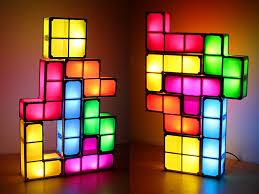 diy usb tetris stackable led light