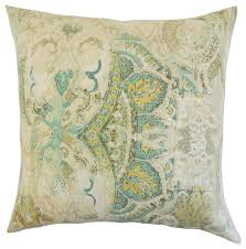havilah fl bedding sham seahorse euro contemporary pillowcases and shams by the pillow collection