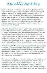 Example Of Executive Summary For Business Plan Oyle Kalakaari Co