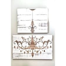 distressed white wood chandelier antique huge rustic