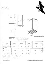 bat house plans. This Bat House Was Designed By Minnesota DNR Wildlife Manager Earl Johnson. So It\u0027s Called The \ Plans O