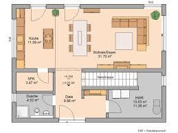 Wohnzimmer Esszimmer Küche Grundriss