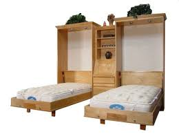 twin size wall bed.  Bed Twin Size Brittany Wall Bed Alder Wood Natural Finish Inside N