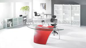 glass top office furniture. Inspirational Glass Top Office Desk Set : Impressive 6224 Furniture Fetching Fice Puter In Silver Metal Ideas P